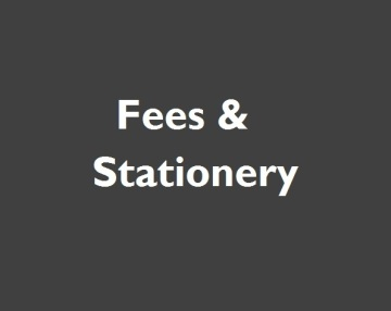background fees and stationery