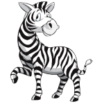 zebra_cartoon_picture 2