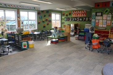 Bright, inviting classrooms