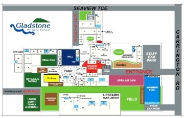 Gladstone Sch Map 2015