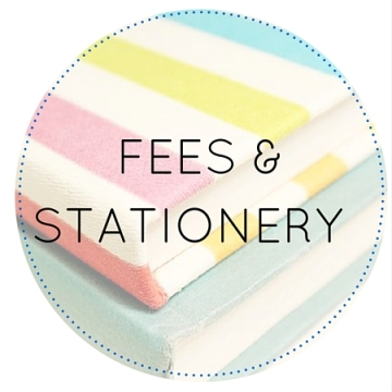 Circles FEES AND STATIONERY