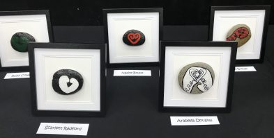 Art exhibition pieces