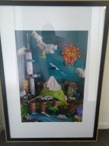 Art exhibition piece
